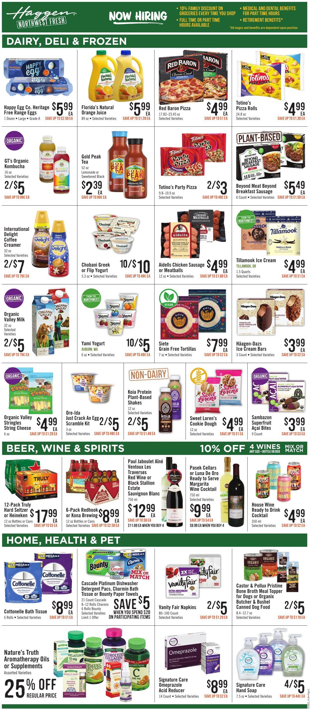 Haggen Weekly Ad Circular - valid 07/28-08/10/2021 (Page 5)