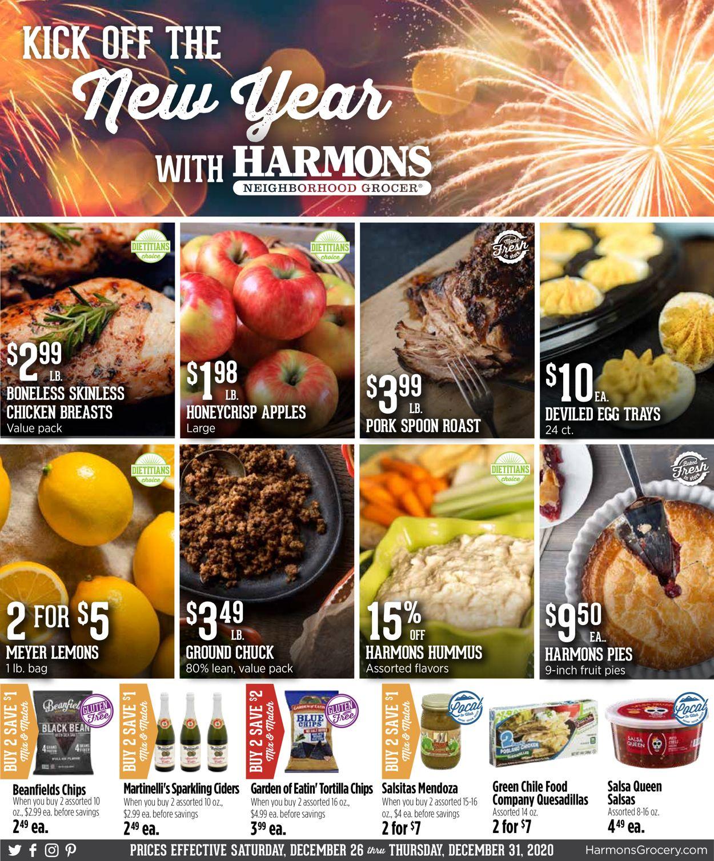 Harmons Weekly Ad Circular - valid 12/26-12/31/2020