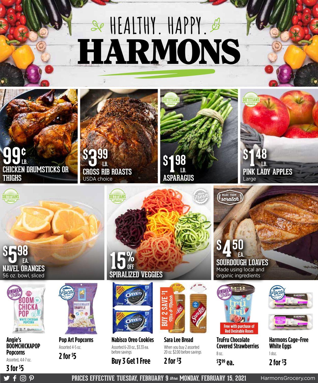 Harmons Weekly Ad Circular - valid 02/09-02/15/2021