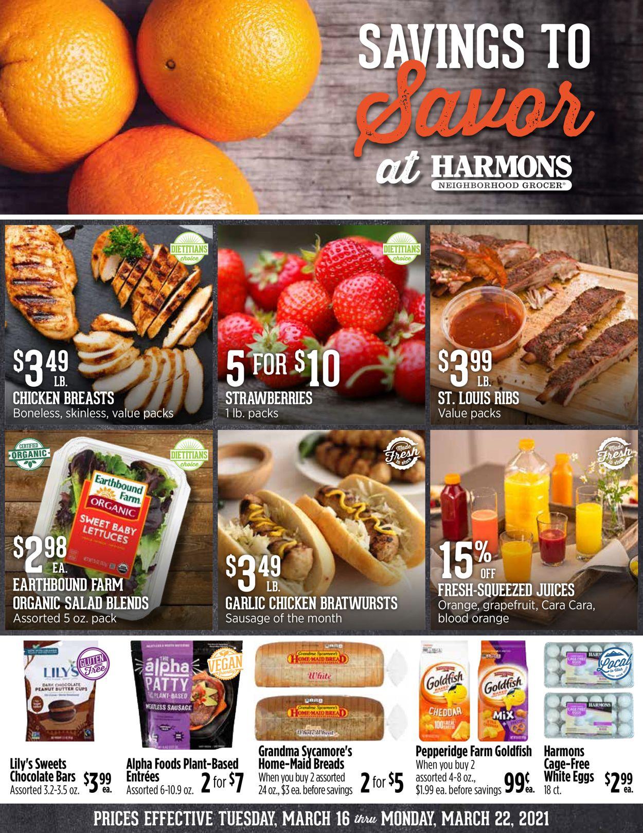 Harmons Weekly Ad Circular - valid 03/16-03/22/2021