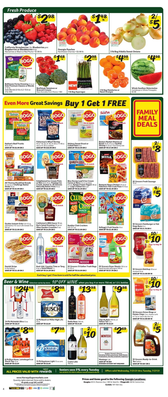 Harveys Supermarket Weekly Ad Circular - valid 07/21-07/27/2021 (Page 6)