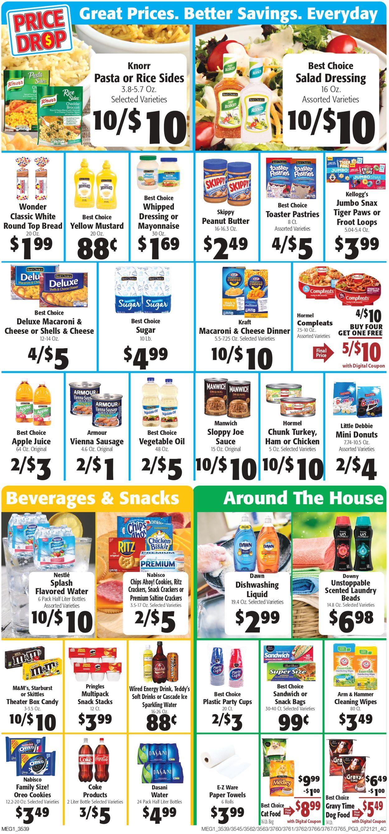 Hays Supermarket Weekly Ad Circular - valid 07/21-07/27/2021 (Page 3)