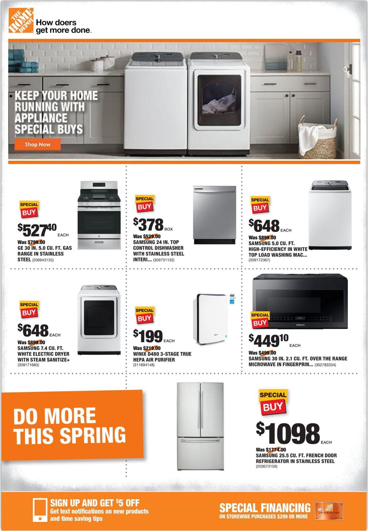 Home Depot Weekly Ad Circular - valid 05/21-05/28/2020