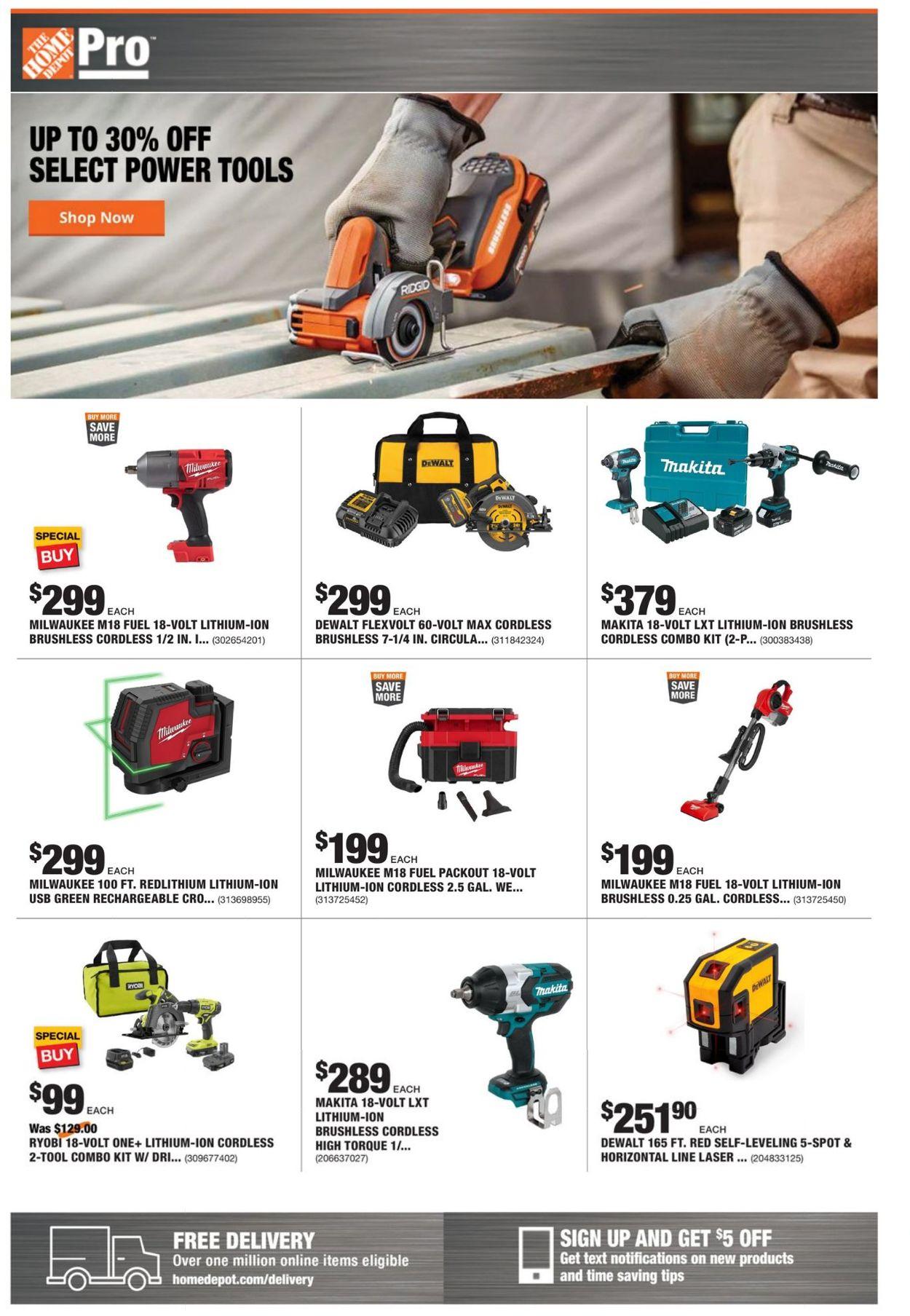 Home Depot Weekly Ad Circular - valid 02/08-02/15/2021