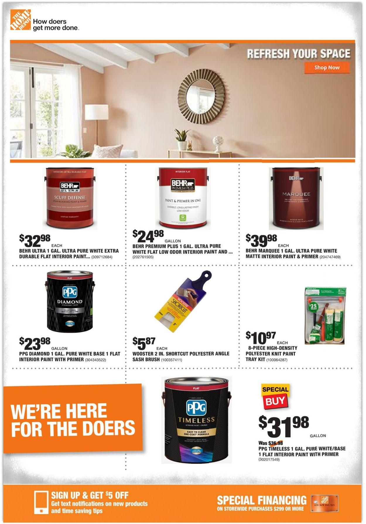 Home Depot Weekly Ad Circular - valid 02/11-02/18/2021