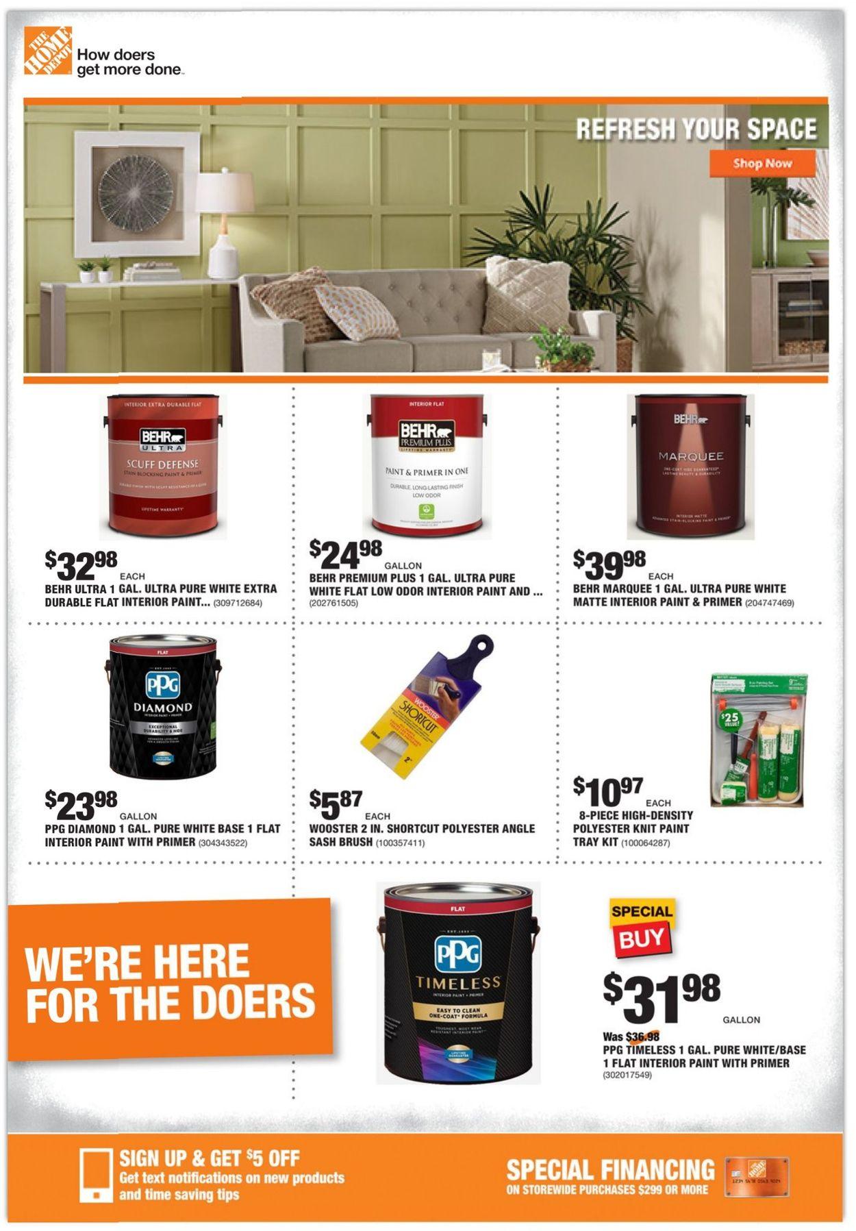 Home Depot Weekly Ad Circular - valid 02/18-02/25/2021