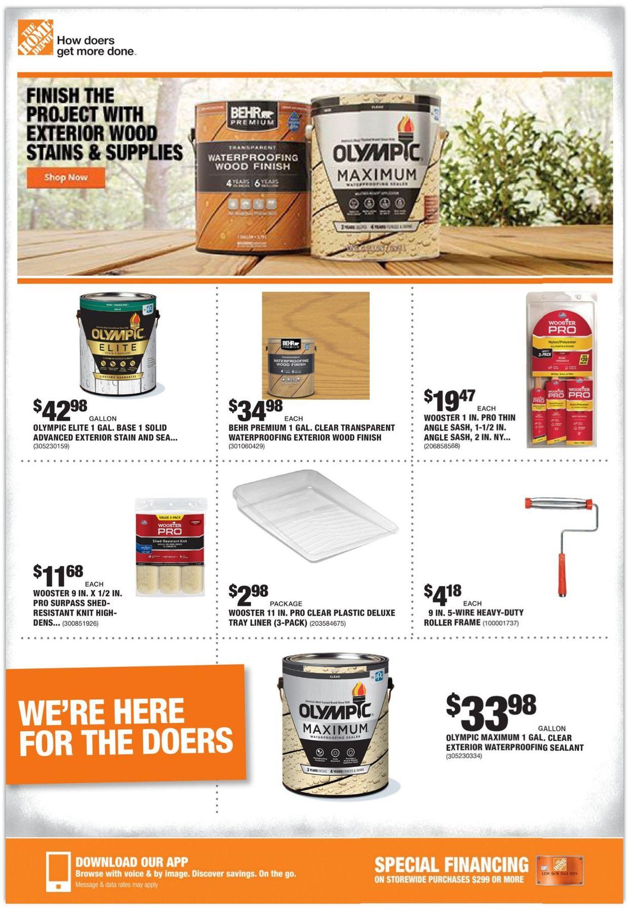 Home Depot Weekly Ad Circular - valid 03/11-03/18/2021