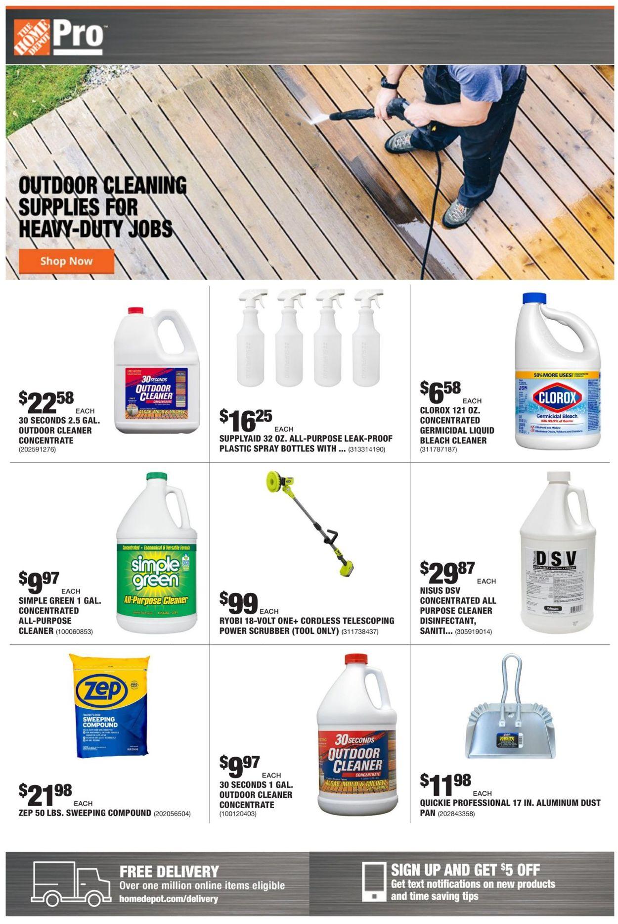 Home Depot Weekly Ad Circular - valid 03/29-04/05/2021