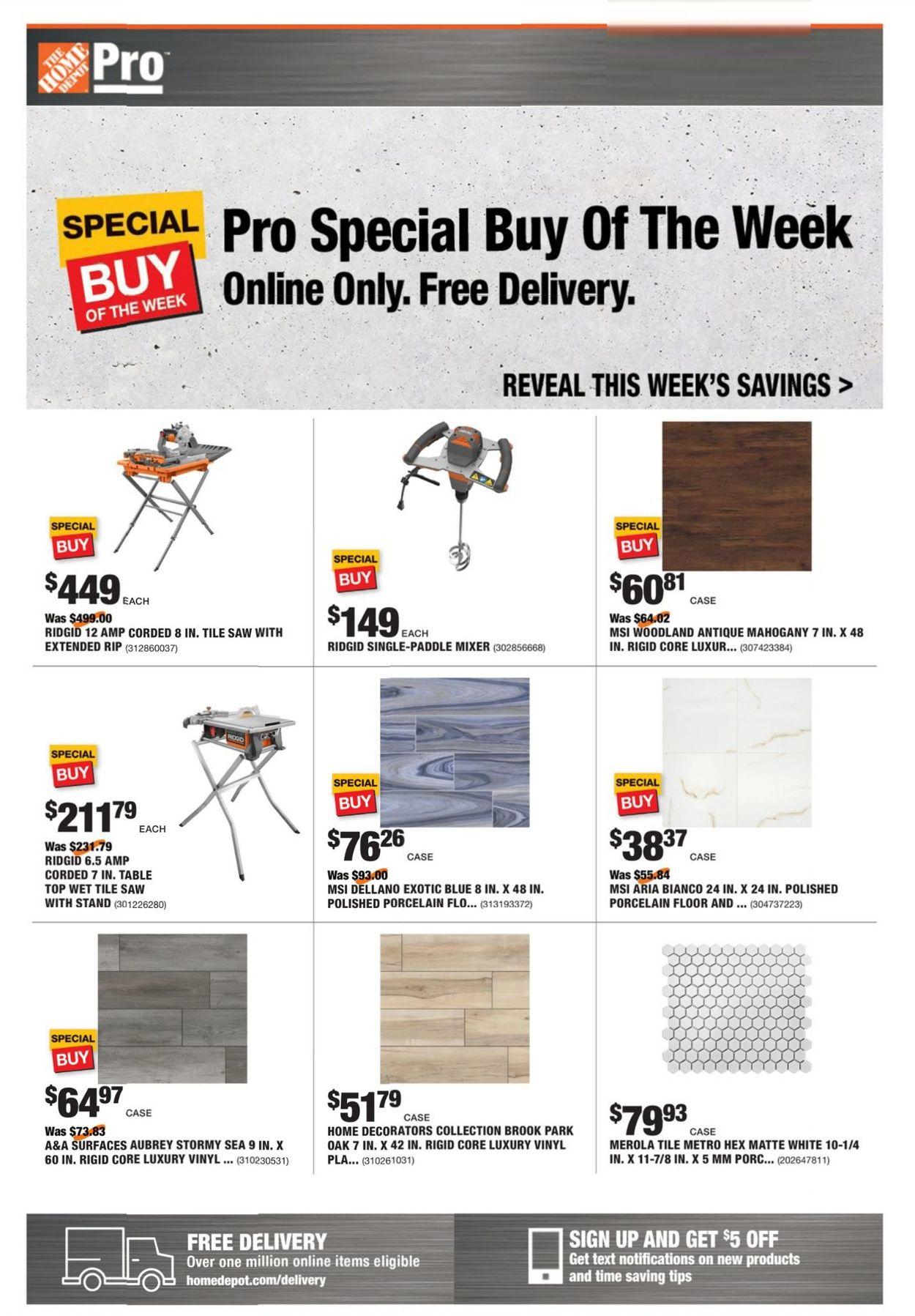 Home Depot Weekly Ad Circular - valid 05/10-05/17/2021