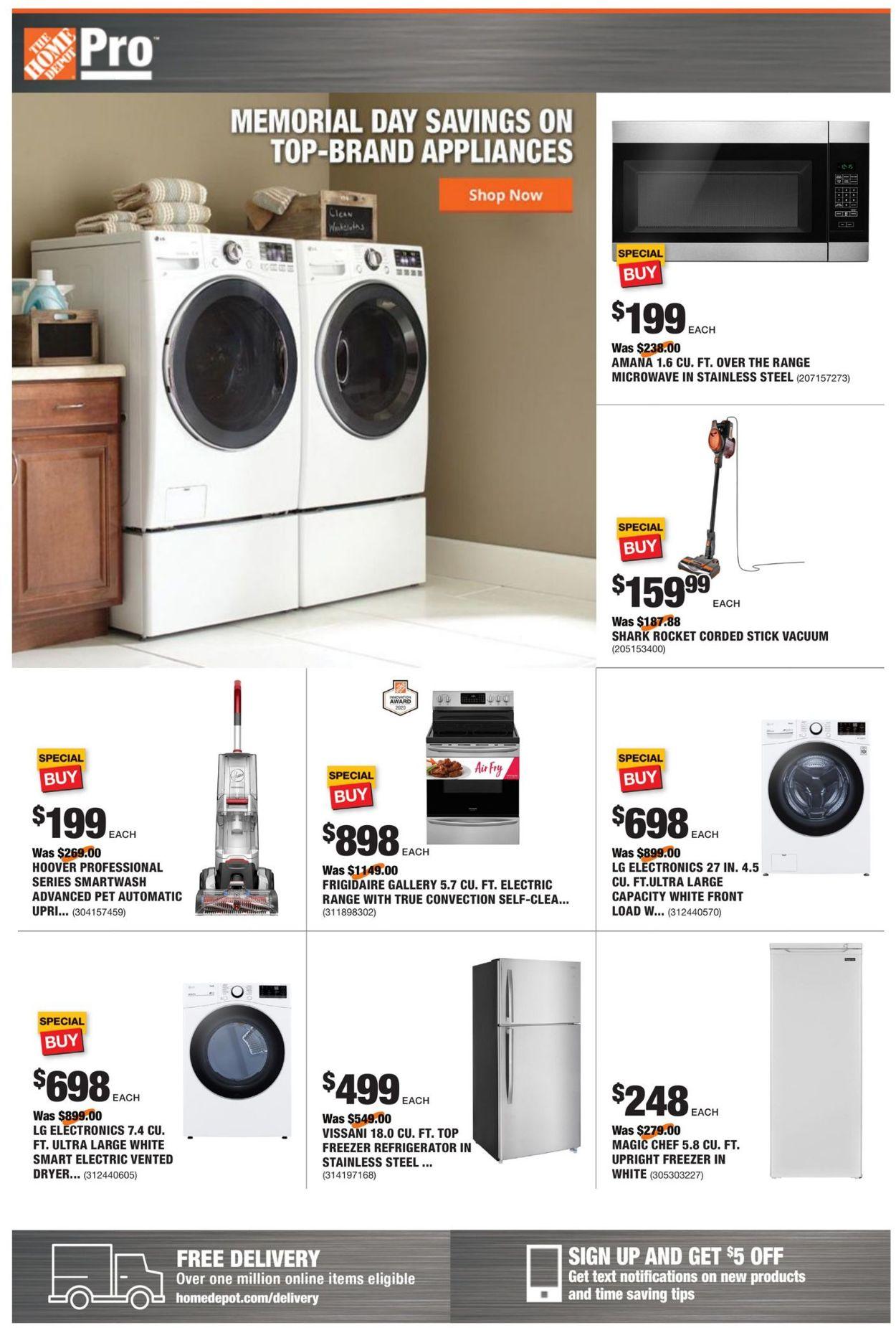 Home Depot Weekly Ad Circular - valid 05/24-05/31/2021