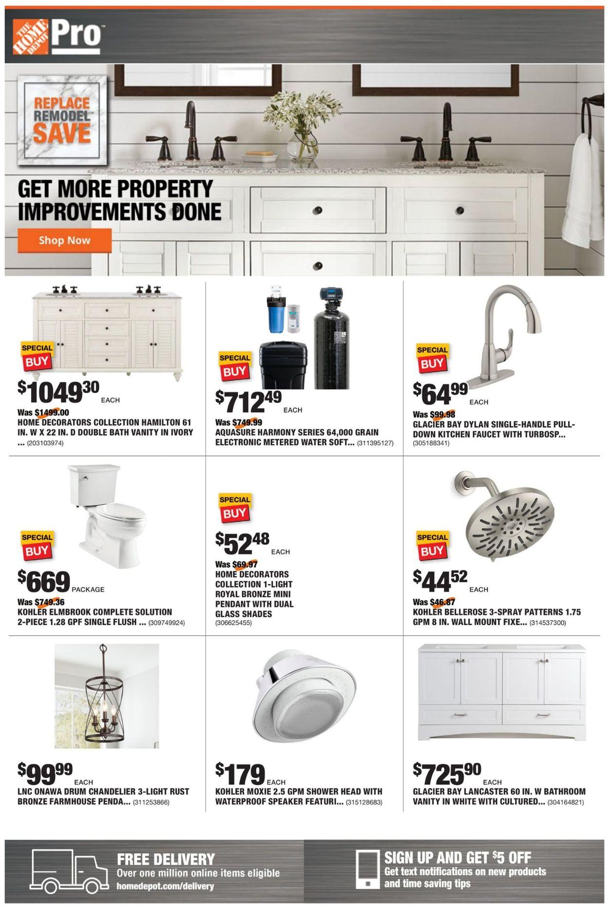 Home Depot Weekly Ad Circular - valid 06/14-06/21/2021