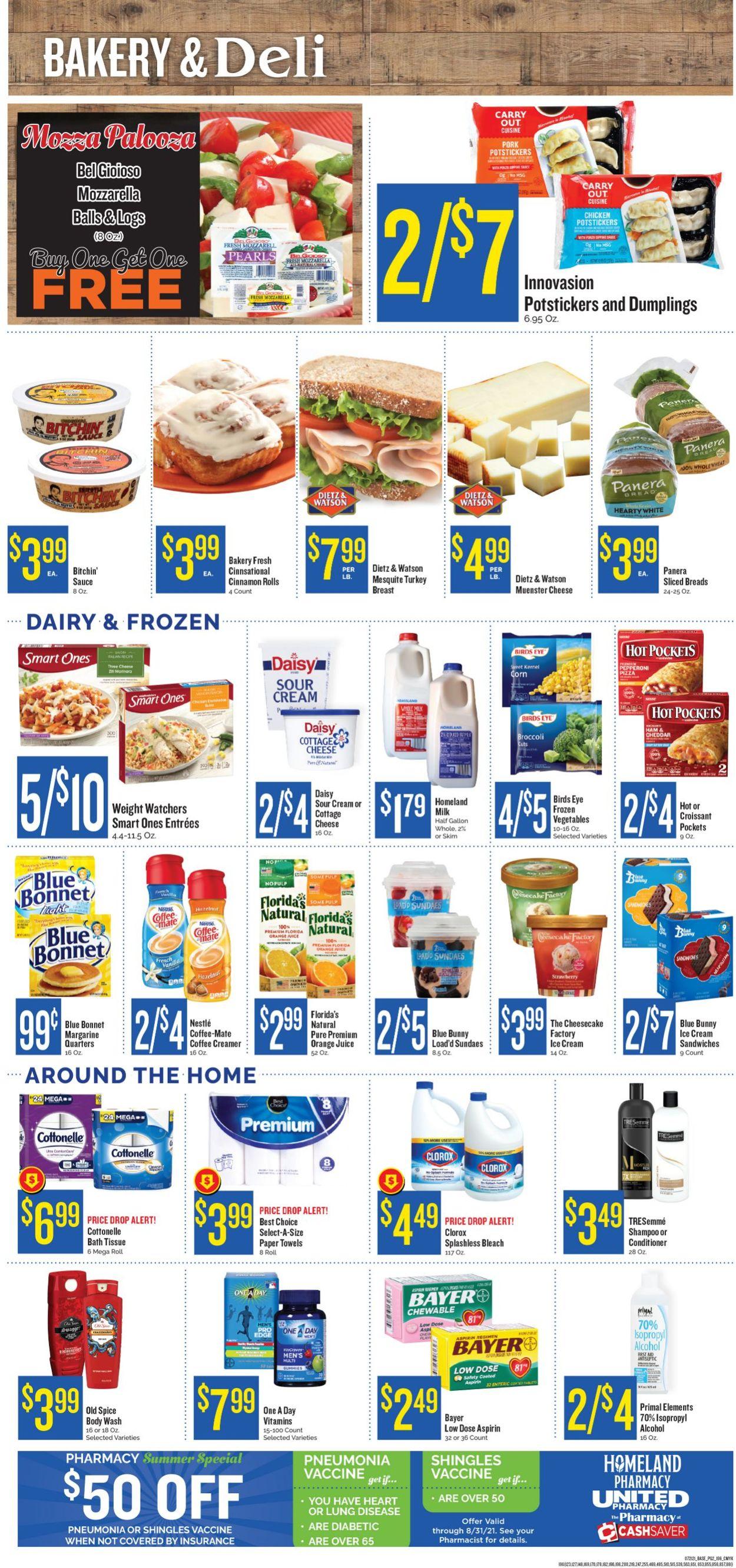 Homeland Weekly Ad Circular - valid 07/21-07/27/2021 (Page 2)