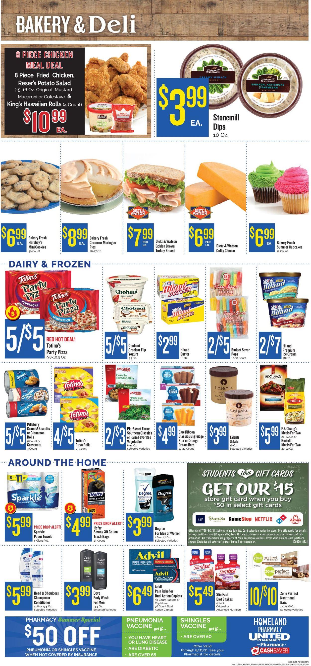 Homeland Weekly Ad Circular - valid 07/28-08/03/2021 (Page 2)
