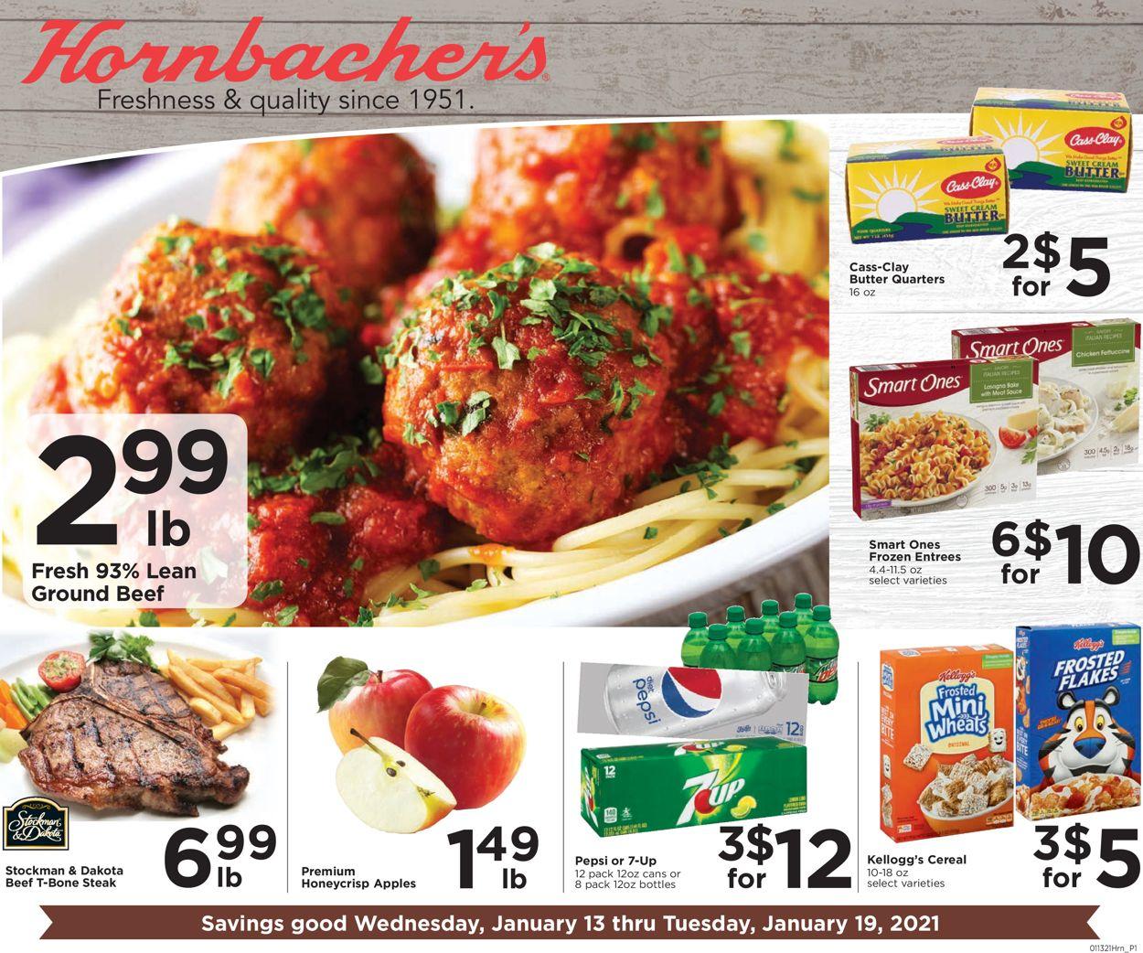 Hornbacher's Weekly Ad Circular - valid 01/13-01/19/2021