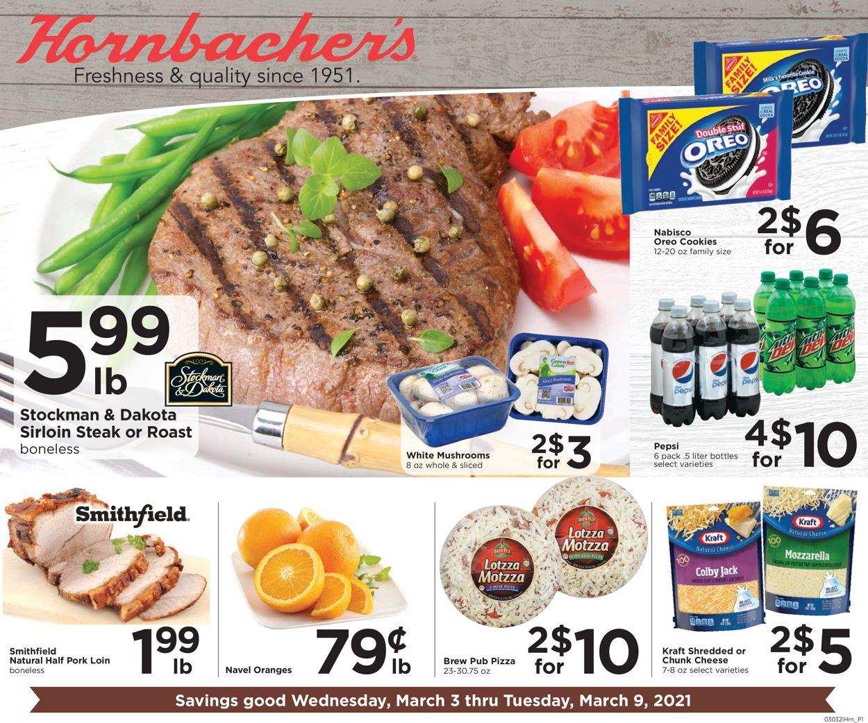 Hornbacher's Weekly Ad Circular - valid 03/03-03/09/2021