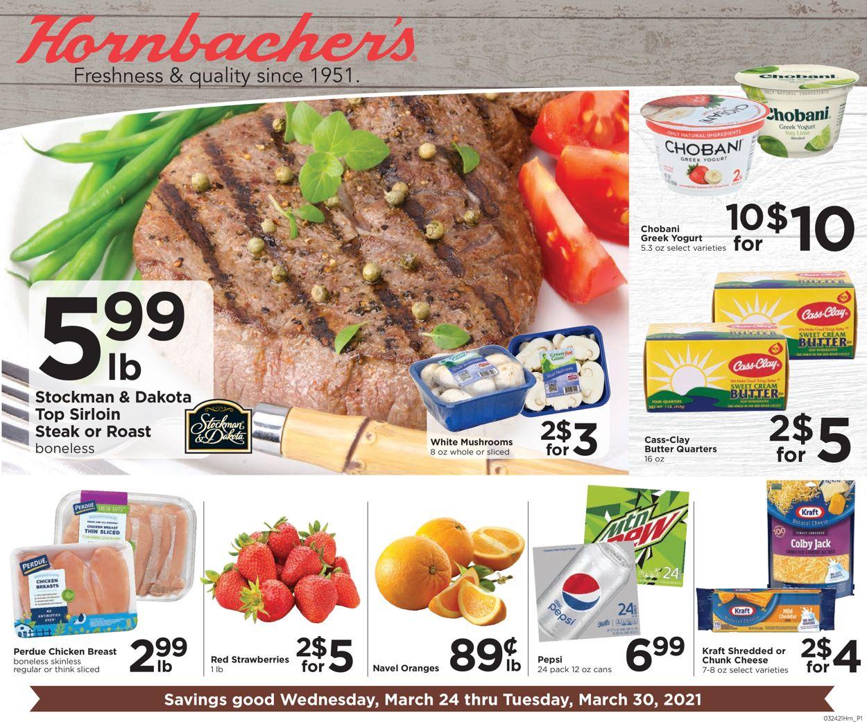 Hornbacher's Weekly Ad Circular - valid 03/24-03/30/2021
