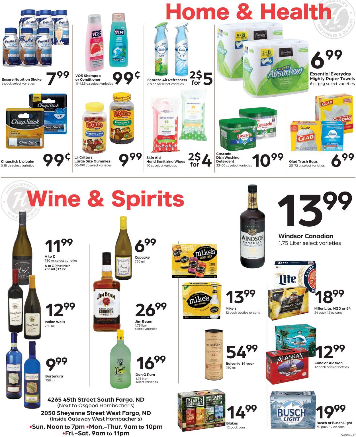 Hornbacher's Weekly Ad Circular - valid 04/07-04/13/2021