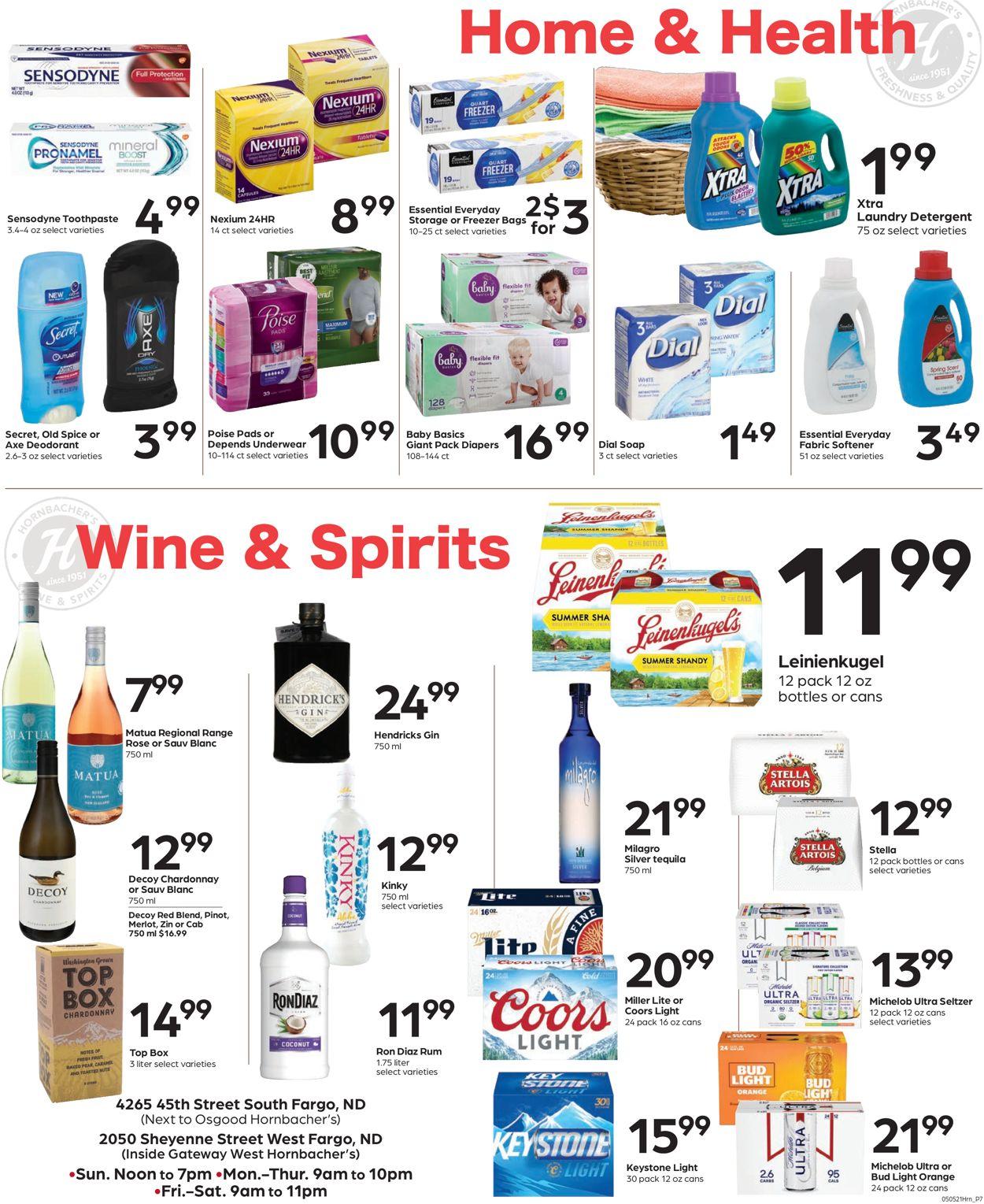 Hornbacher's Weekly Ad Circular - valid 05/05-05/11/2021