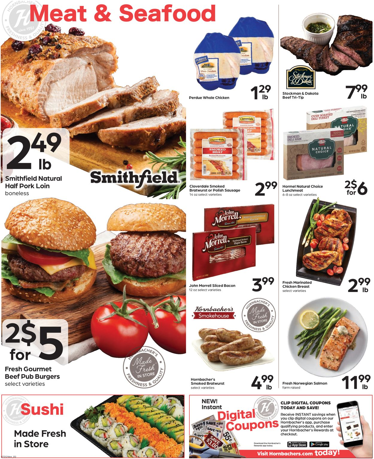 Hornbacher's Weekly Ad Circular - valid 07/21-07/27/2021 (Page 2)