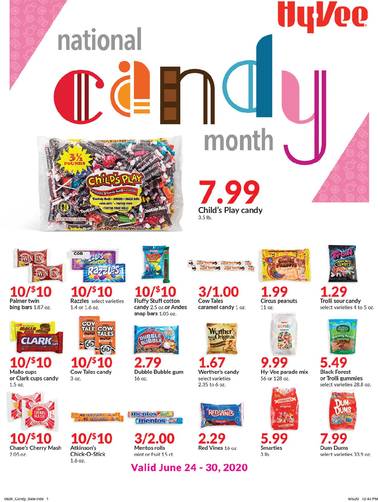 HyVee Weekly Ad Circular - valid 06/24-06/30/2020