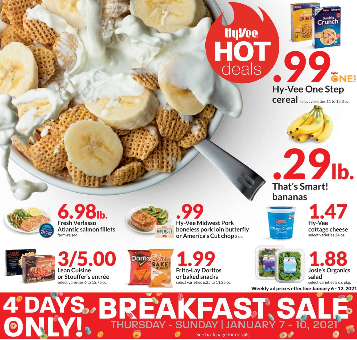 HyVee Hot Deals 2021 Weekly Ad Circular - valid 01/07-01/10/2021