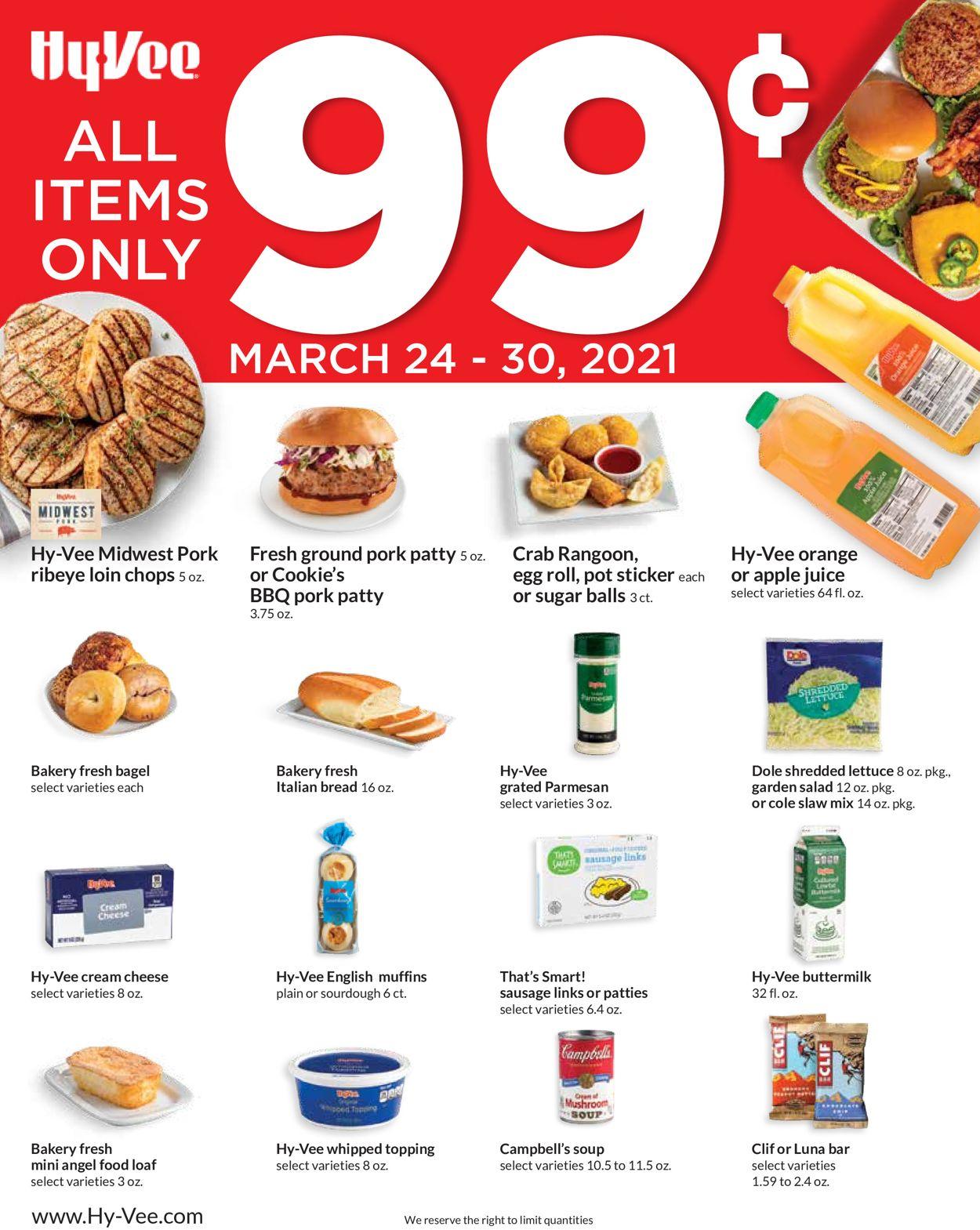 HyVee Weekly Ad Circular - valid 03/24-03/30/2021