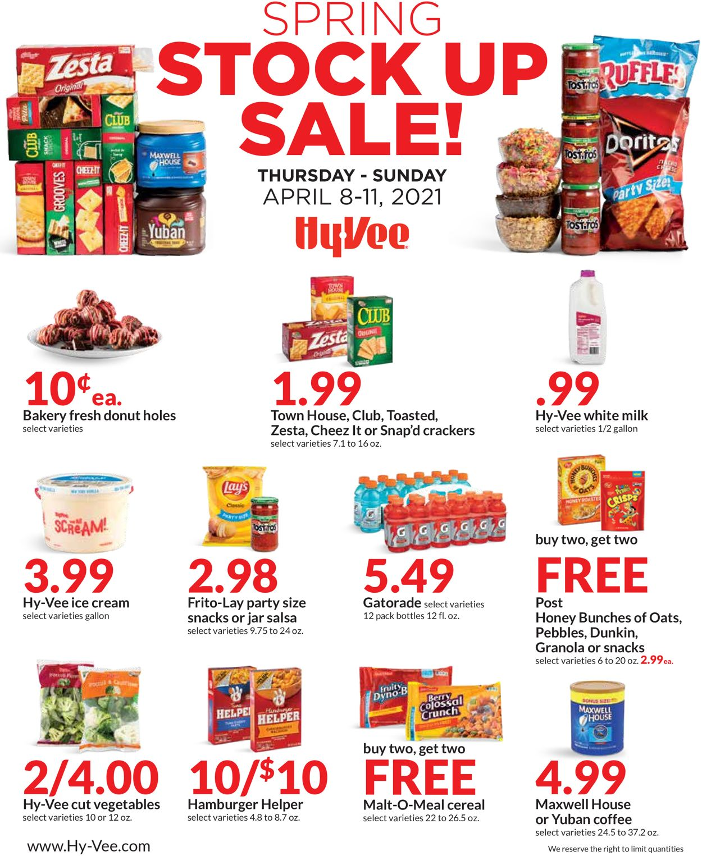 HyVee Weekly Ad Circular - valid 04/08-04/11/2021