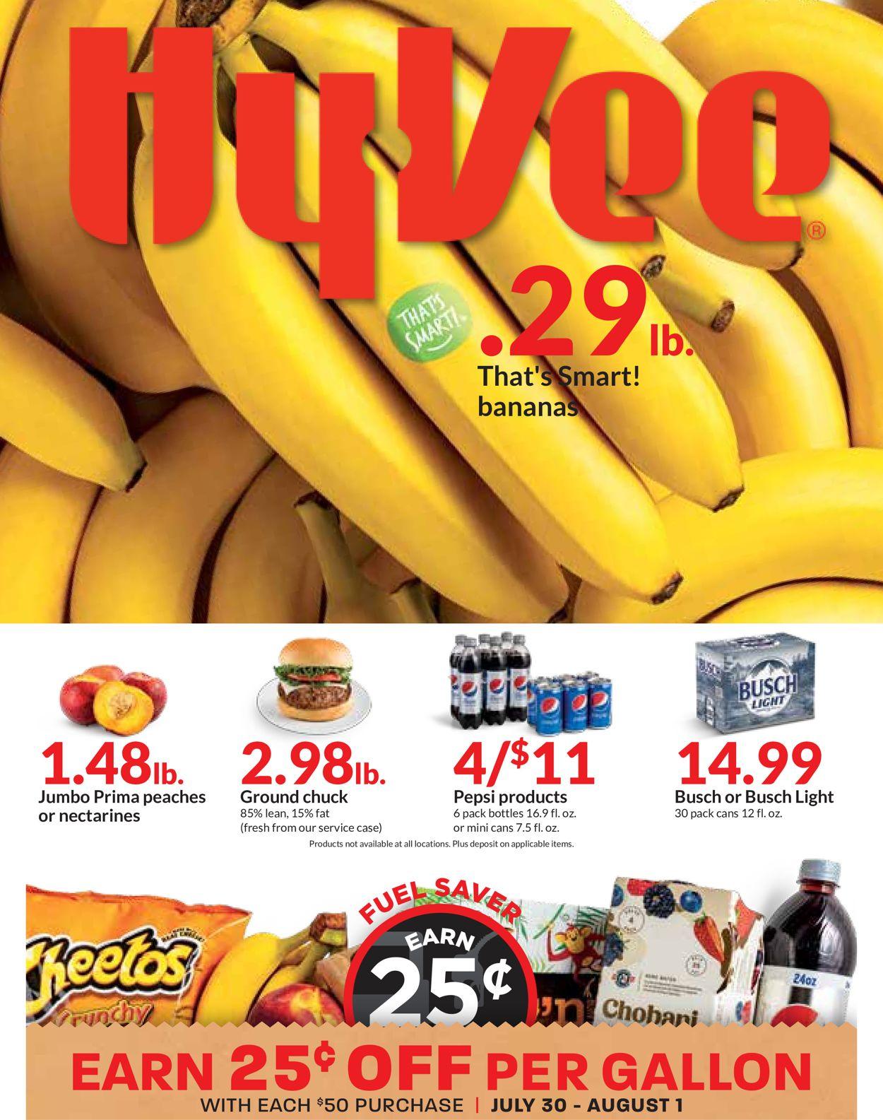 HyVee Weekly Ad Circular - valid 07/28-08/03/2021