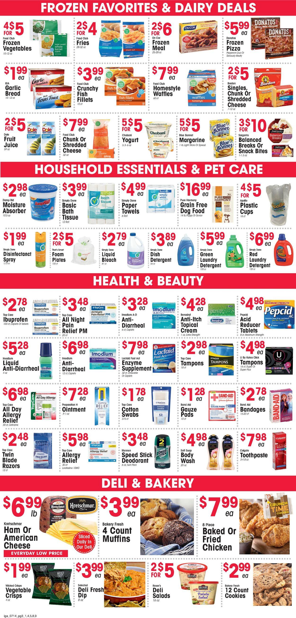 IGA Weekly Ad Circular - valid 07/14-07/20/2021 (Page 3)