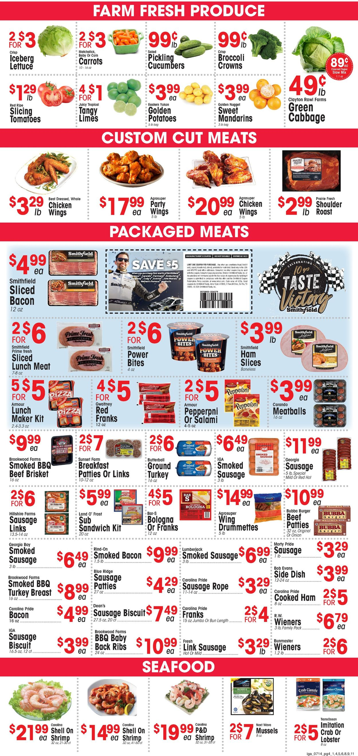 IGA Weekly Ad Circular - valid 07/14-07/20/2021 (Page 4)