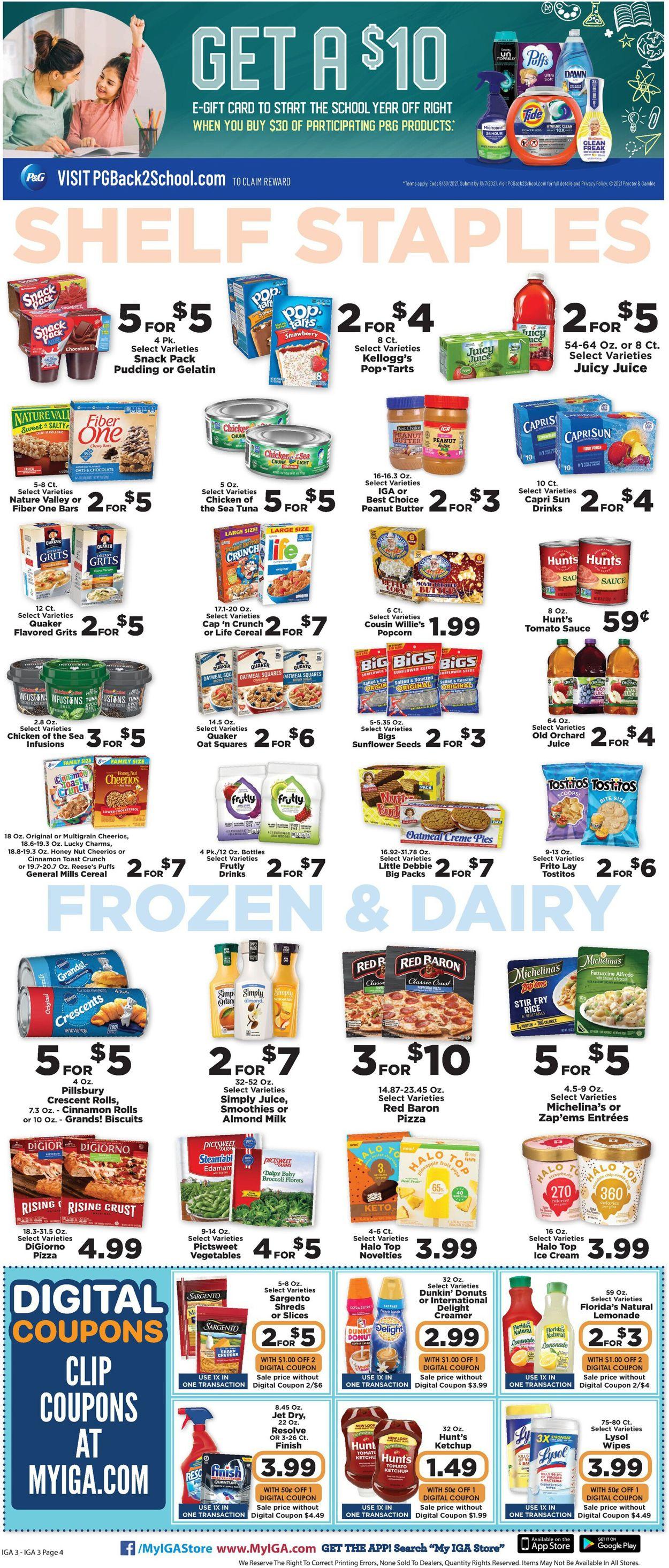 IGA Weekly Ad Circular - valid 07/28-08/03/2021 (Page 4)