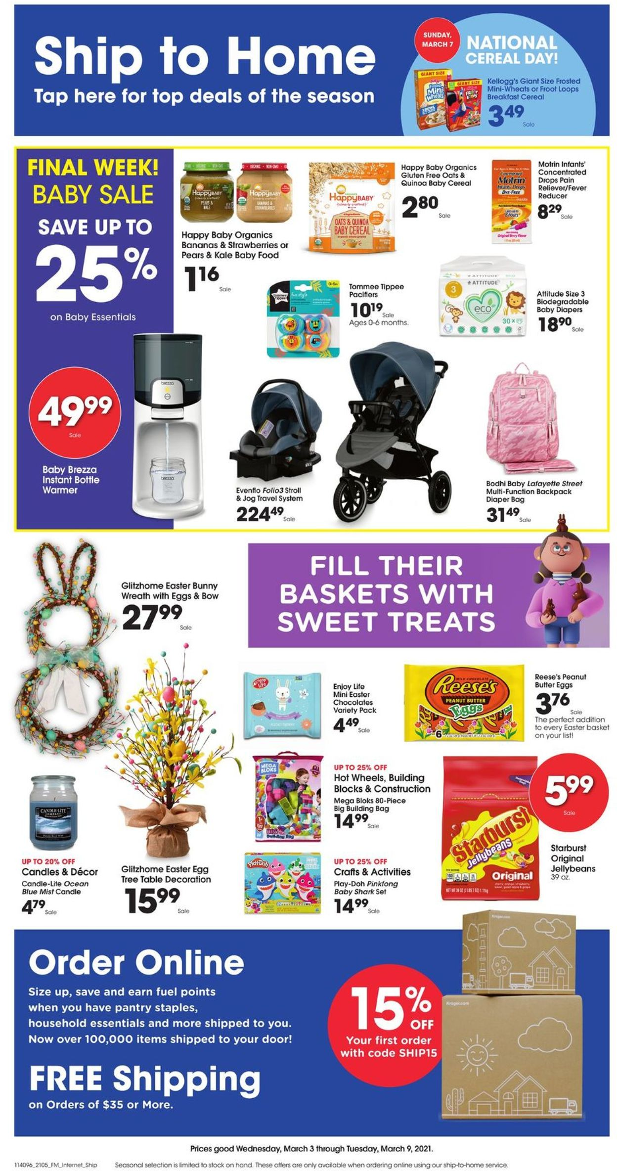 Jay C Food Stores Weekly Ad Circular - valid 03/03-03/09/2021