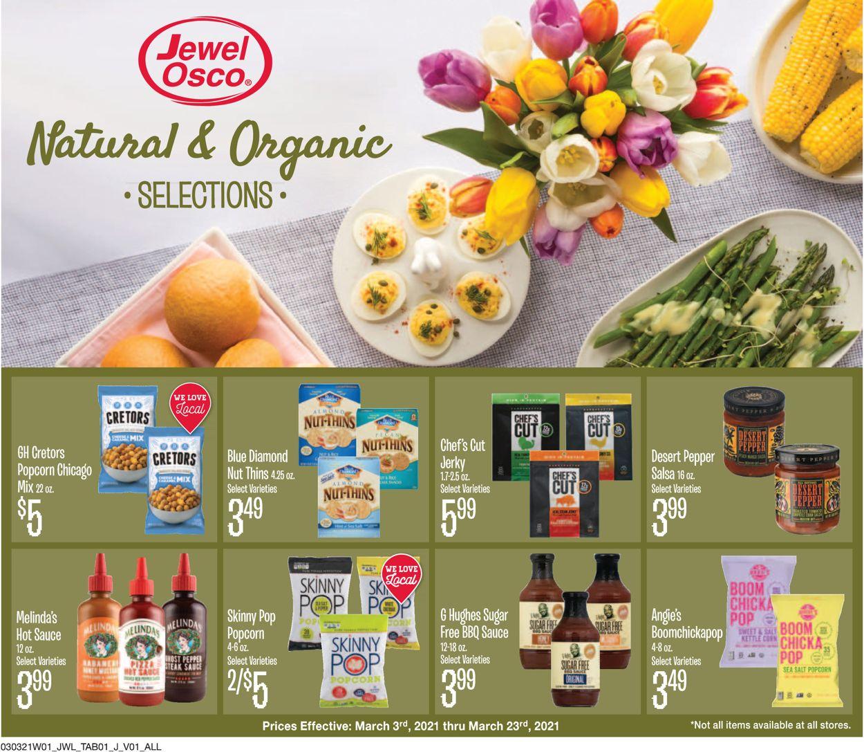Jewel Osco Weekly Ad Circular - valid 03/03-03/23/2021
