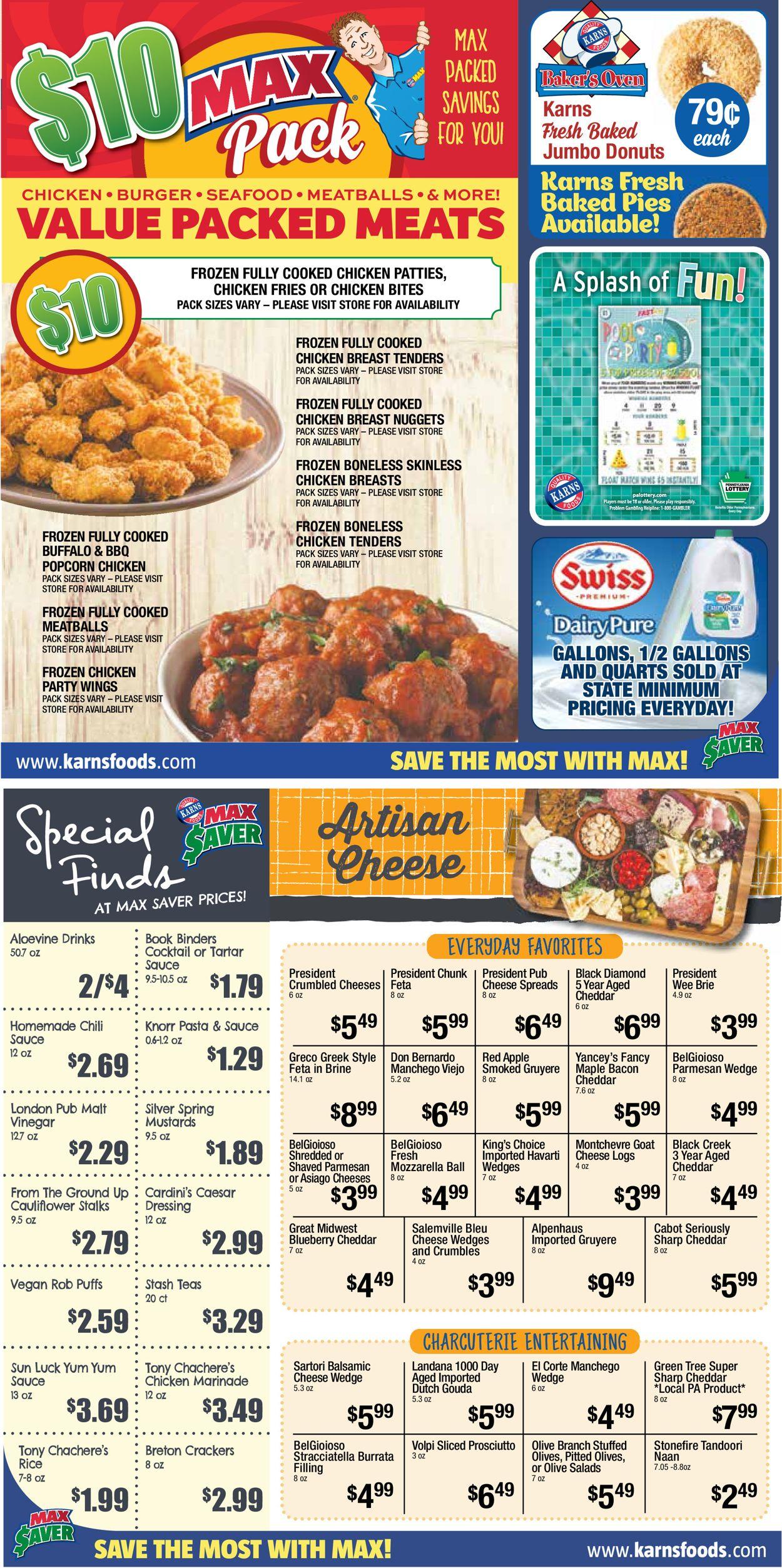 Karns Quality Foods Weekly Ad Circular - valid 07/13-08/09/2021 (Page 7)
