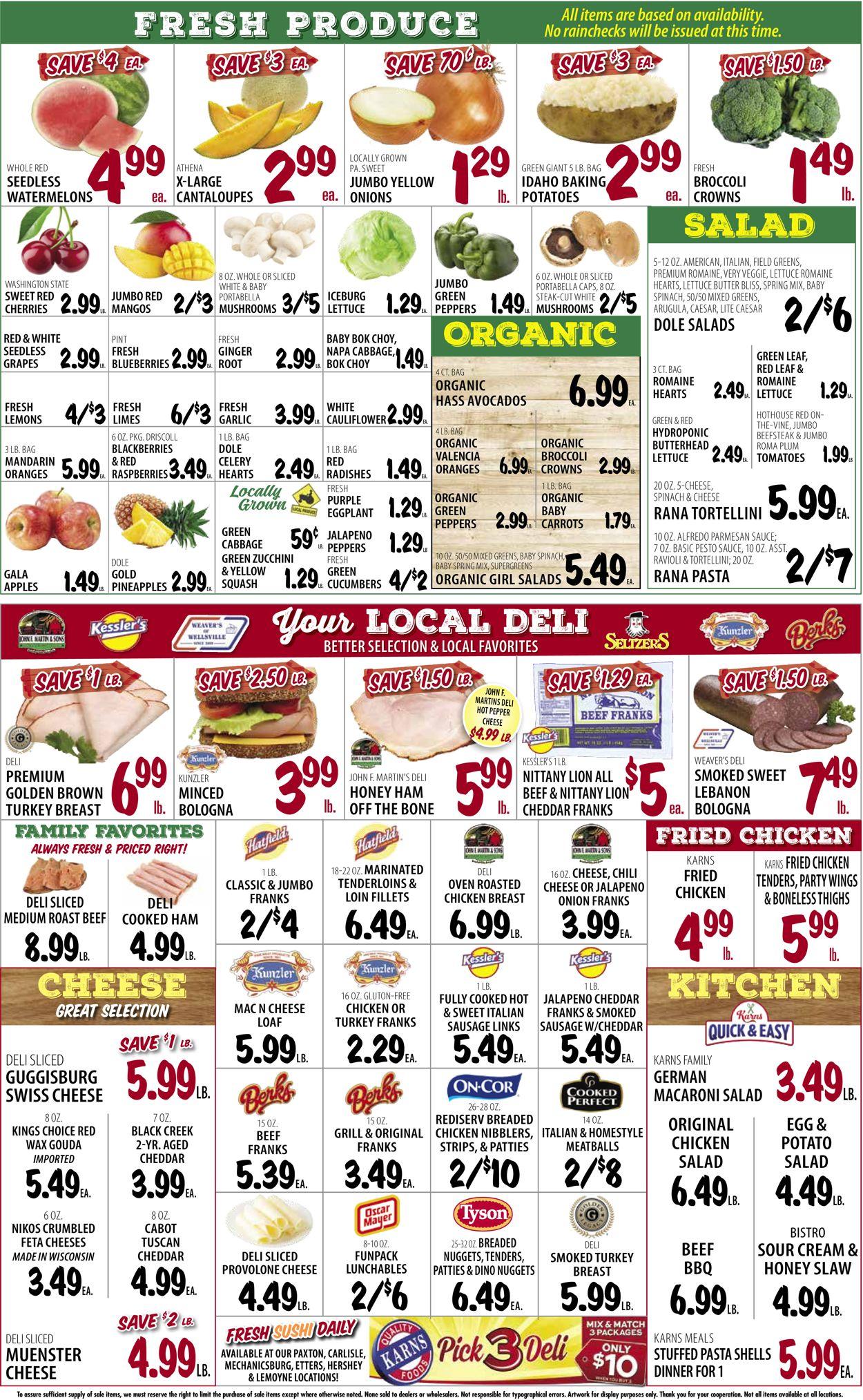 Karns Quality Foods Weekly Ad Circular - valid 07/20-07/26/2021 (Page 4)