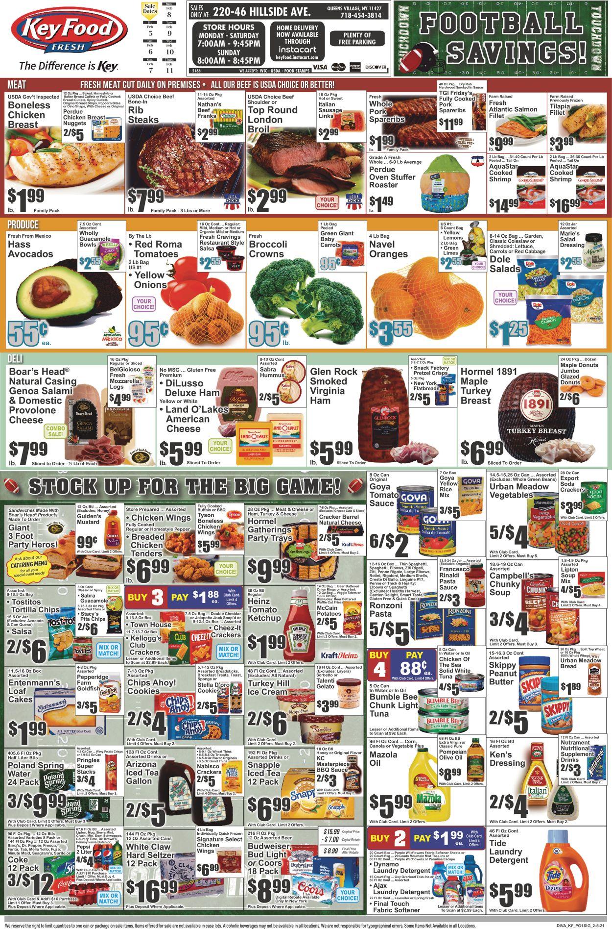 Key Food Weekly Ad Circular - valid 02/05-02/11/2021