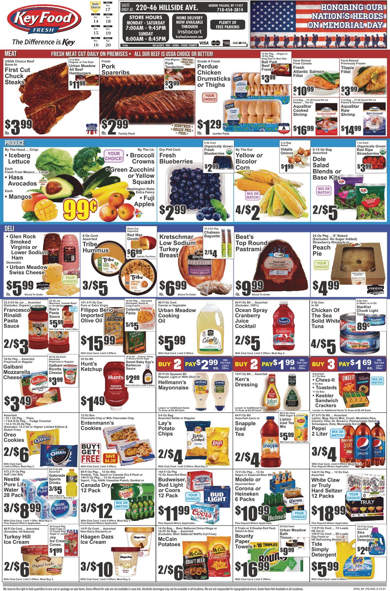 Key Food Weekly Ad Circular - valid 05/14-05/20/2021