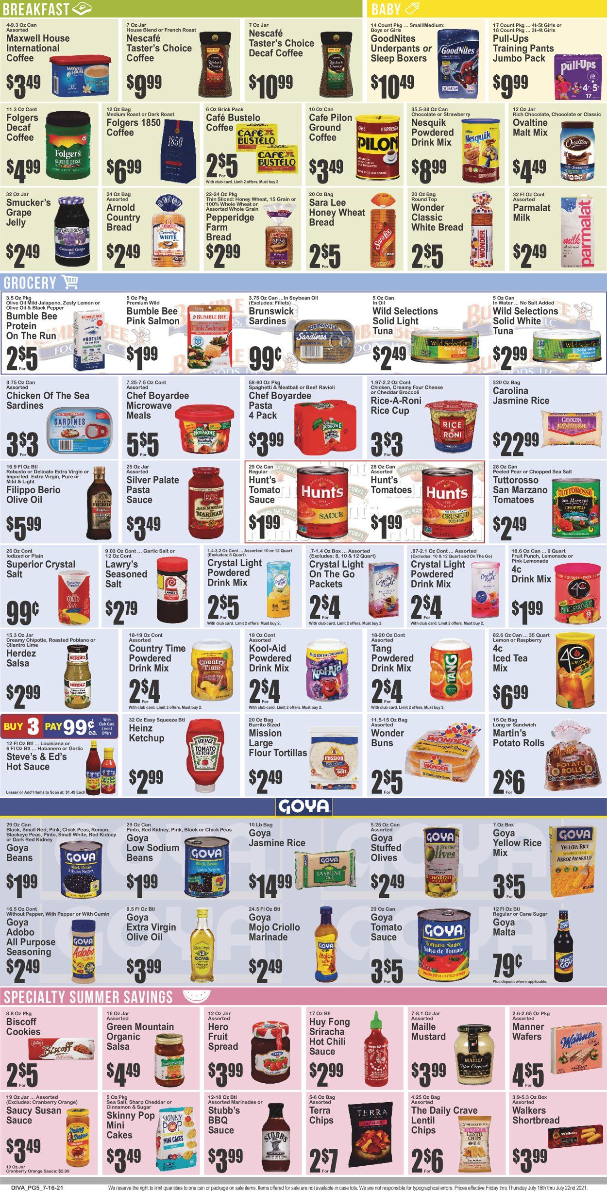 Key Food Weekly Ad Circular - valid 07/16-07/22/2021 (Page 6)