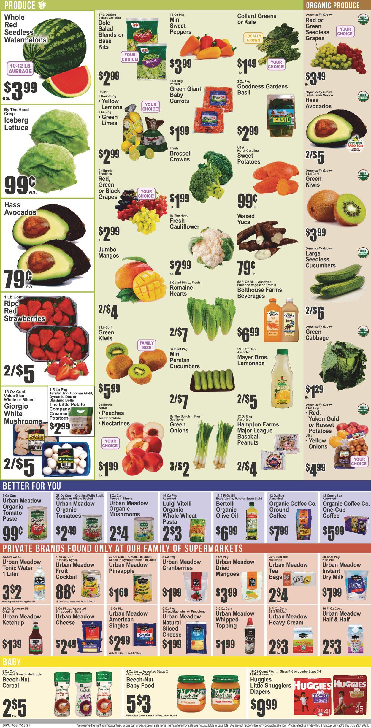 Key Food Weekly Ad Circular - valid 07/23-07/29/2021 (Page 4)