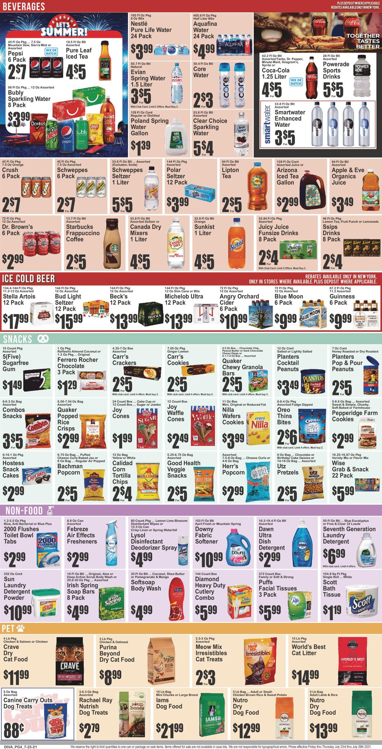 Key Food Weekly Ad Circular - valid 07/23-07/29/2021 (Page 5)