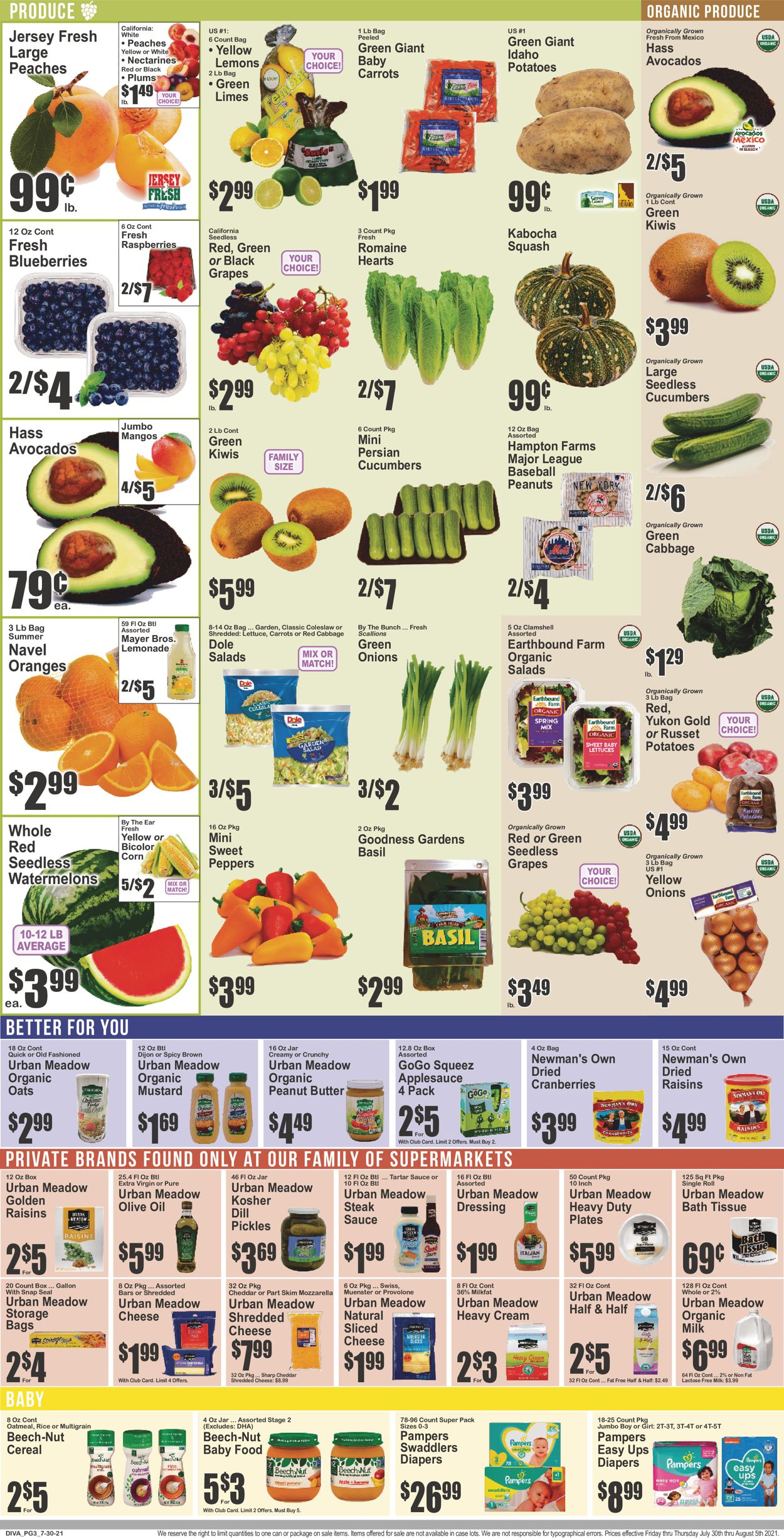 Key Food Weekly Ad Circular - valid 07/30-08/05/2021 (Page 4)