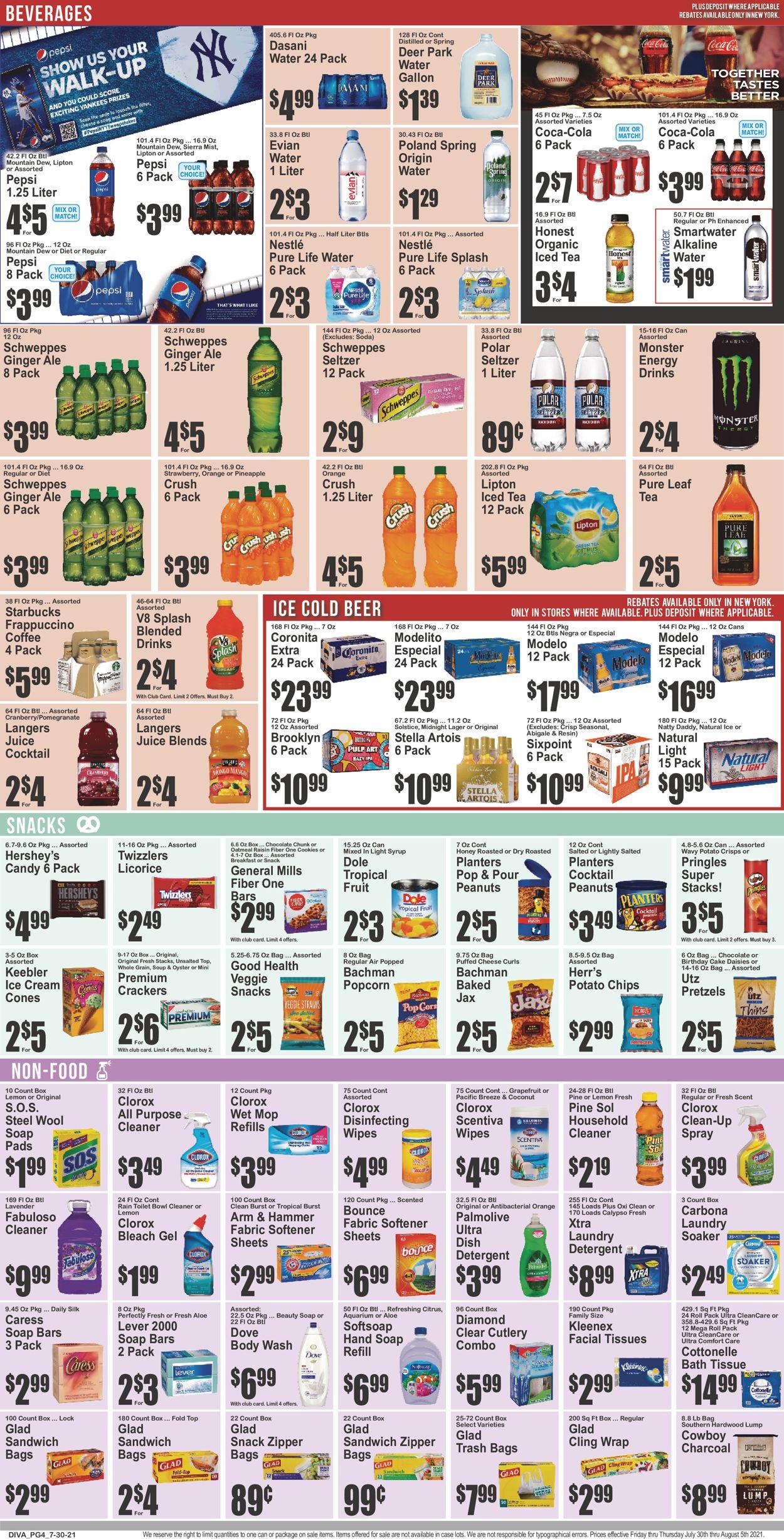 Key Food Weekly Ad Circular - valid 07/30-08/05/2021 (Page 5)