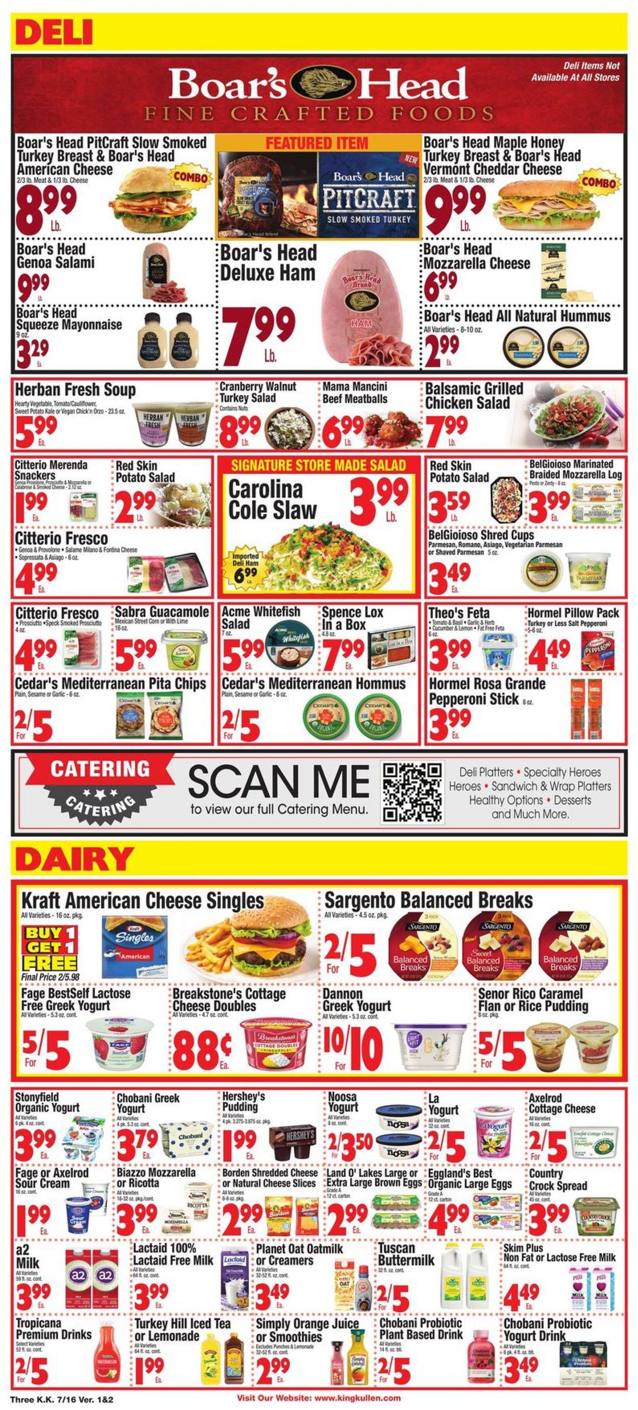 King Kullen Weekly Ad Circular - valid 07/16-07/22/2021 (Page 3)
