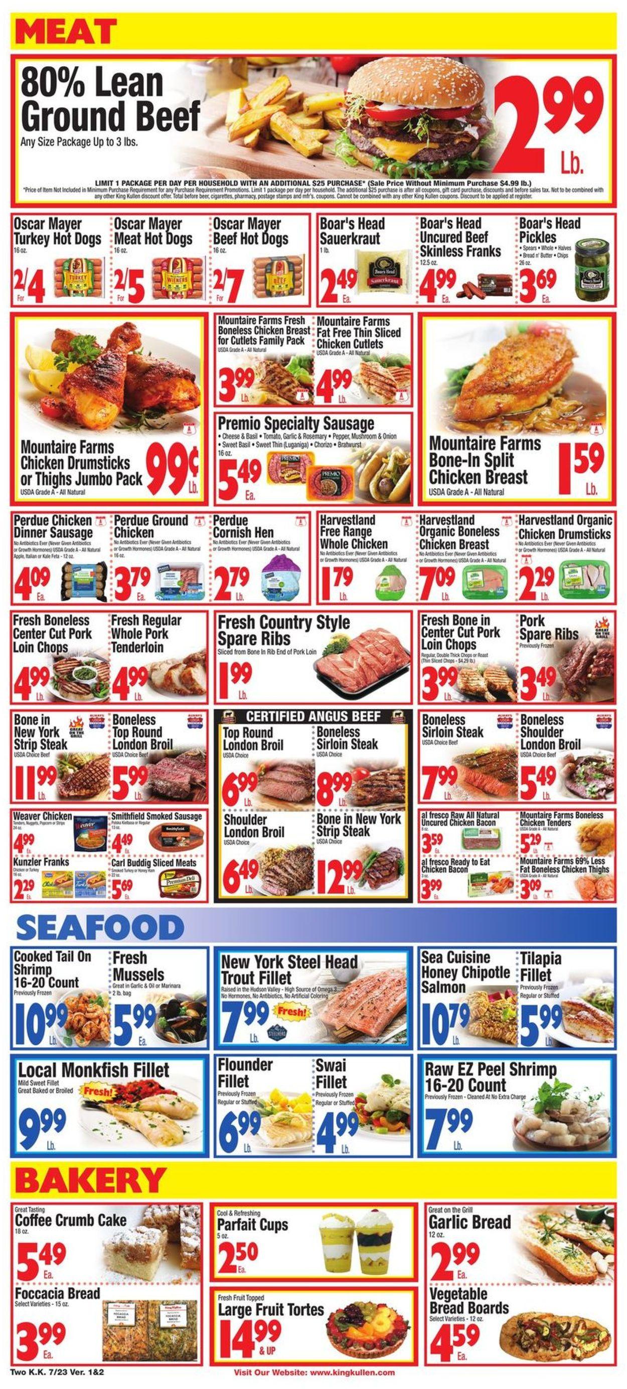 King Kullen Weekly Ad Circular - valid 07/23-07/29/2021 (Page 2)