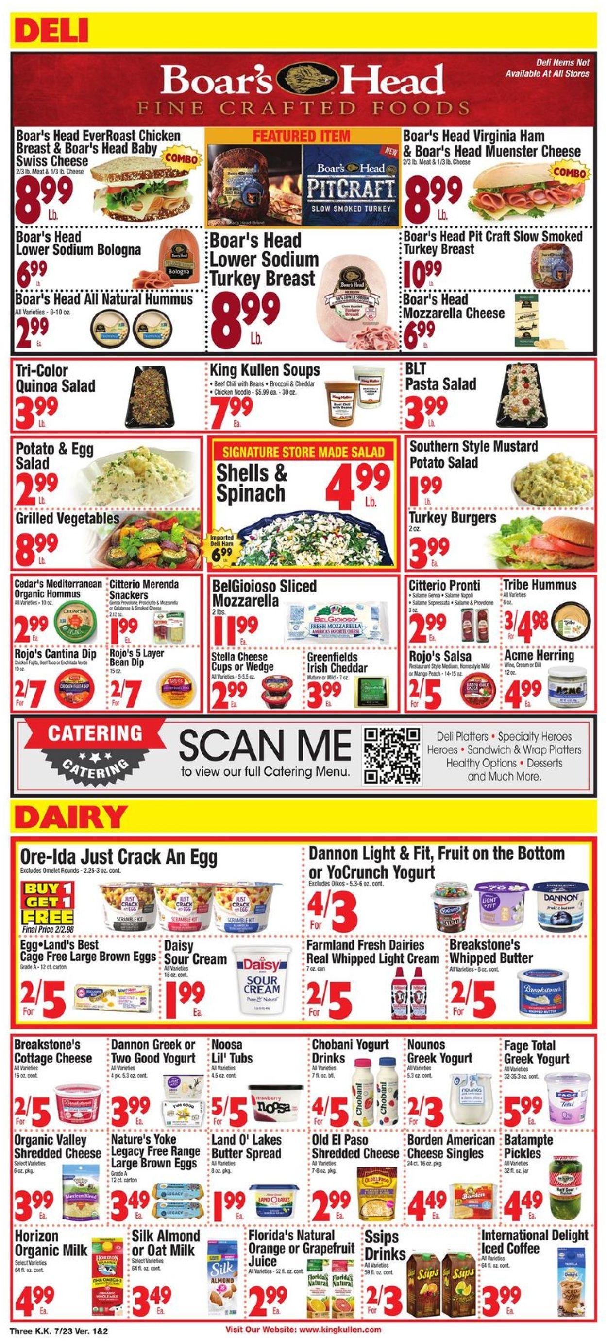 King Kullen Weekly Ad Circular - valid 07/23-07/29/2021 (Page 3)
