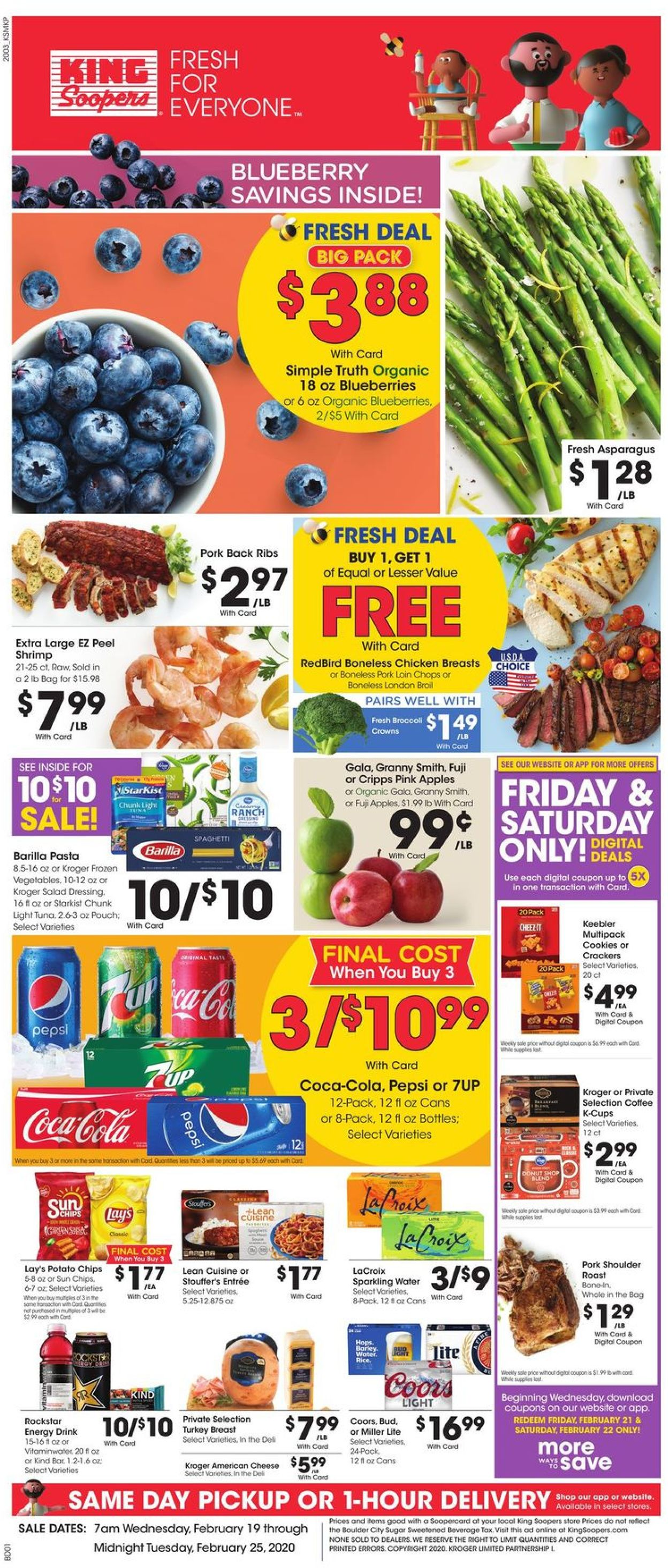 King Soopers Weekly Ad Circular - valid 02/19-02/25/2020