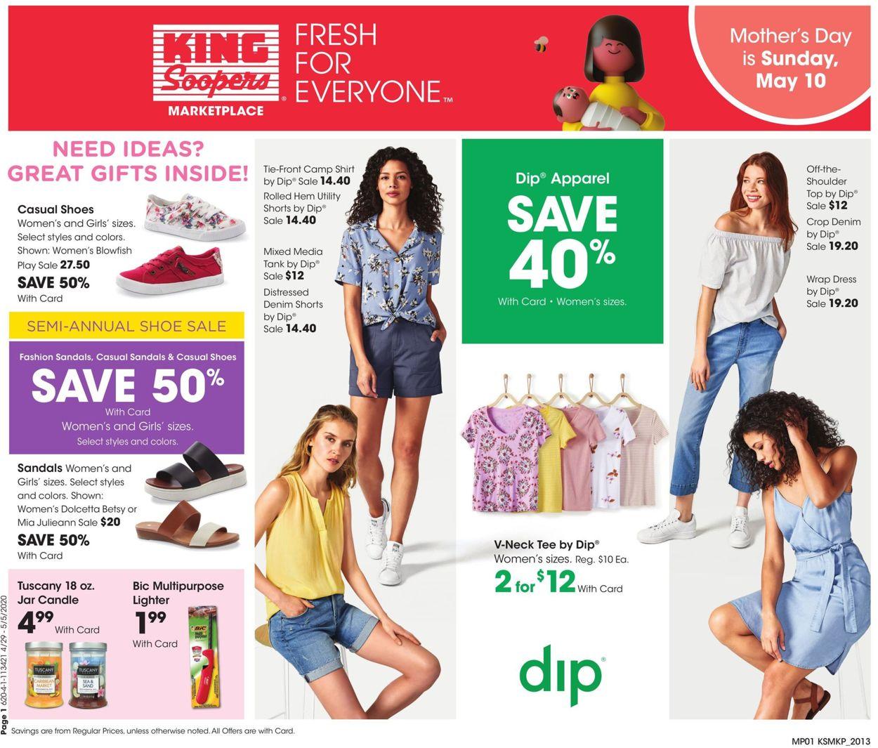King Soopers Weekly Ad Circular - valid 04/29-05/05/2020