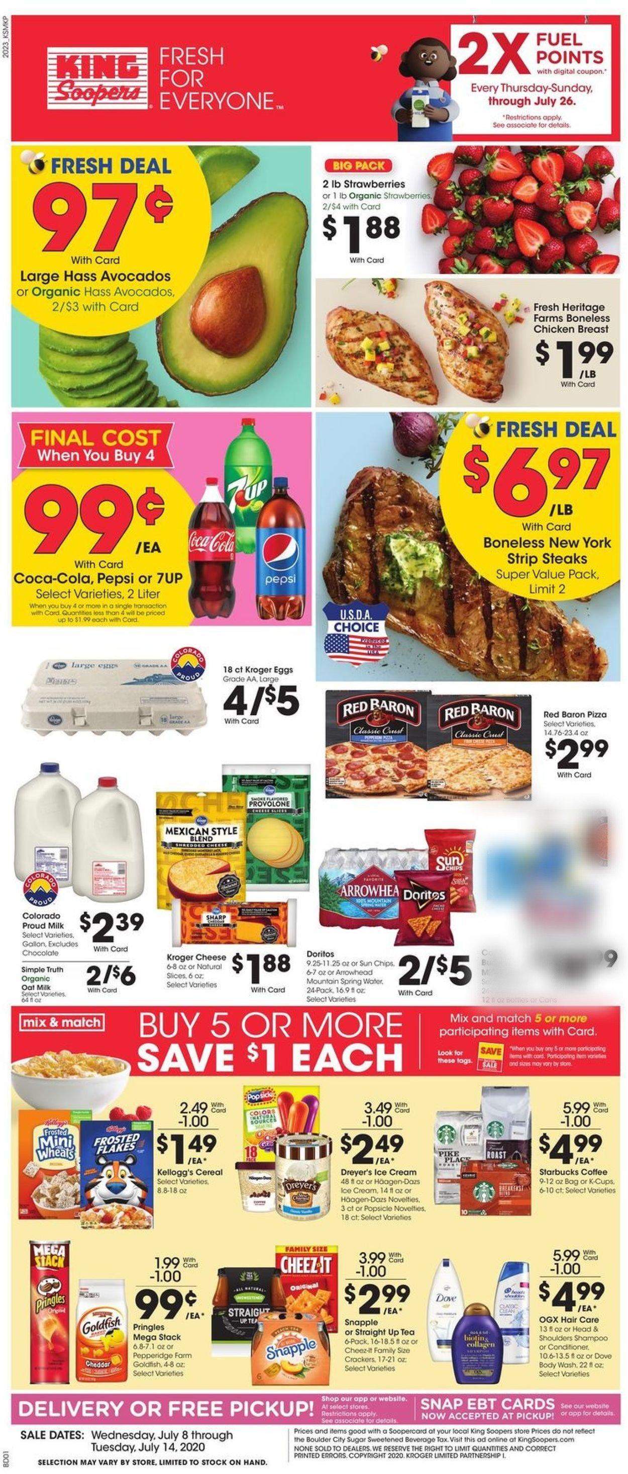 King Soopers Weekly Ad Circular - valid 07/08-07/14/2020