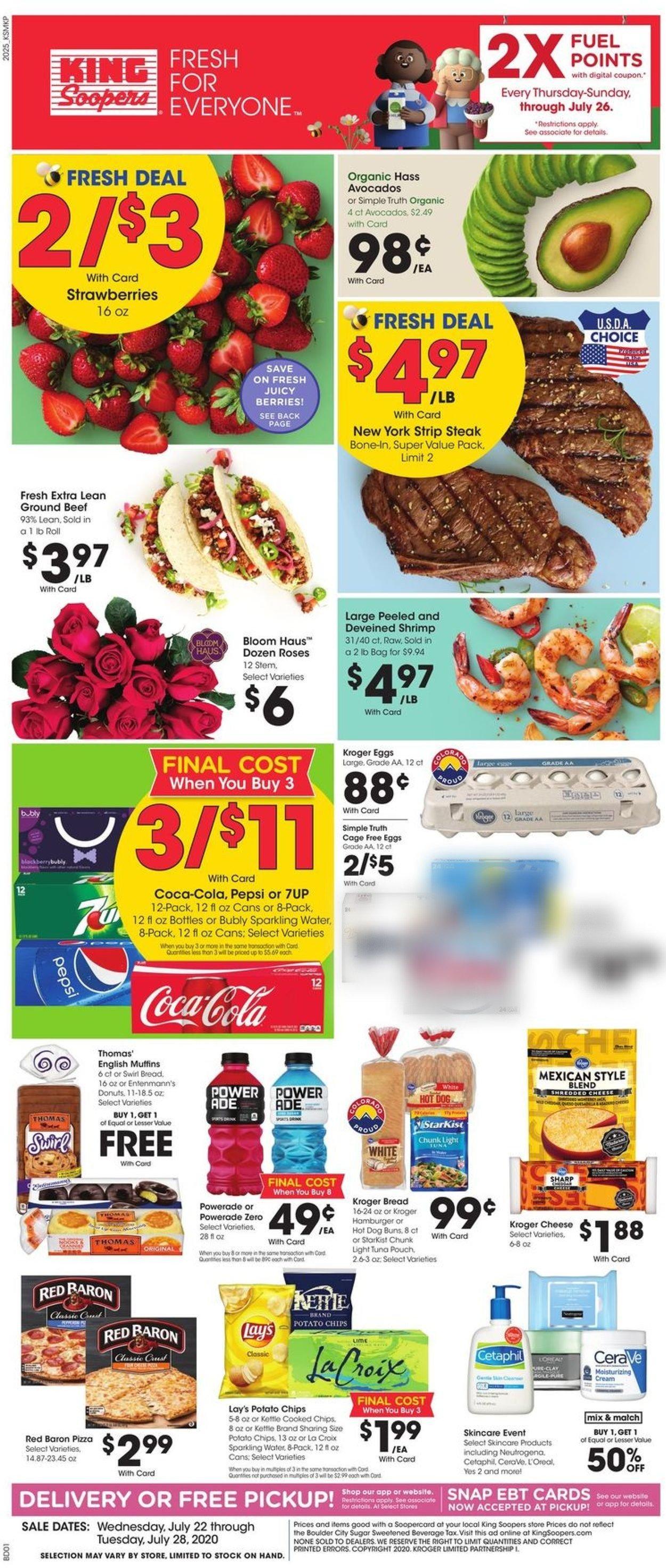 King Soopers Weekly Ad Circular - valid 07/22-07/28/2020