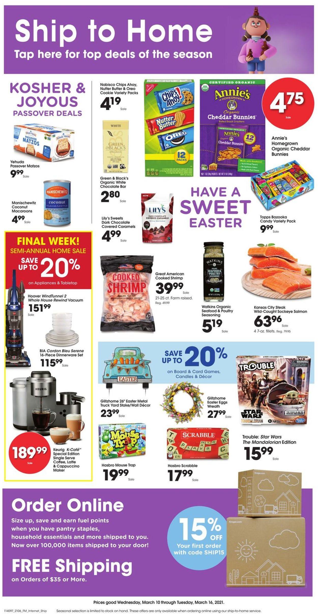 King Soopers Weekly Ad Circular - valid 03/10-03/16/2021